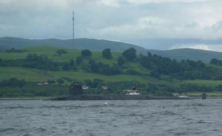 Leaving Faslane