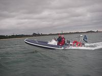 Ribtec 585 Eagle Eye- approaching Hamble