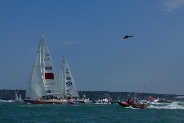 Start of the Clipper Round the World Race