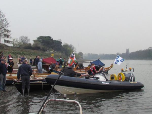 Oxbridge Watermans Challenge on Boat Race Day
