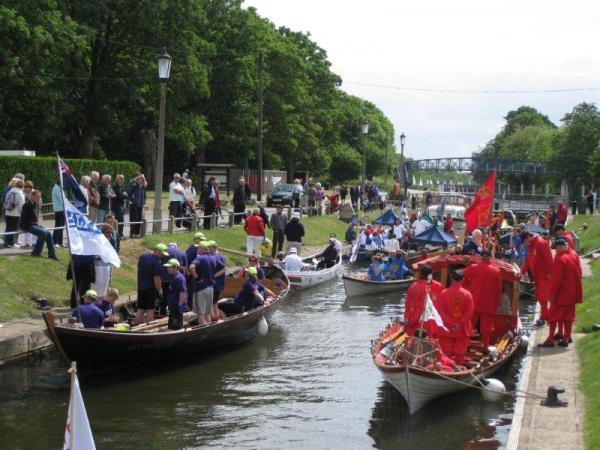 Tudor Pageant at Teddington Lock