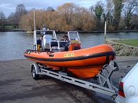Northern Exposure 2  Humber 5.5m with 150hp outboard