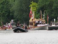 Magna Carta 800th Boating Parade Gloriana 13 & 14 June 15