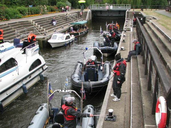 Magna Carta 800th Boating Parade Gloriana 13 & 14 June 15