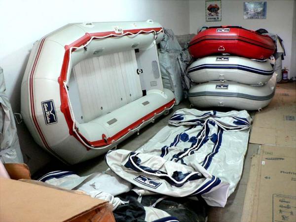 Sea Rider Heavy Duty Sib/Rib Inflatables