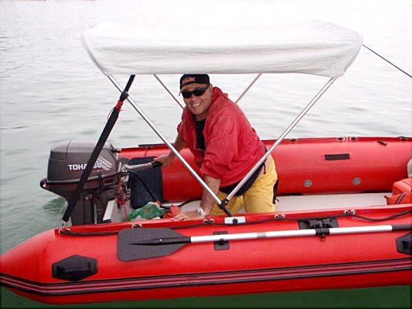 Sea Rider 380, Tohatsu 18 Sibbing