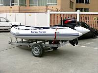 Sea Rider 370, Tohatsu 30 HP Surf Rib
