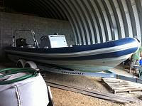 Ballistic 7.8 retubed in Ocean Blue