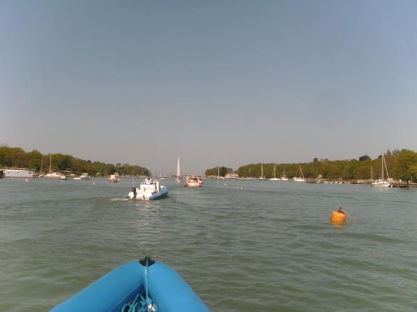 Leaving Wooton Creek