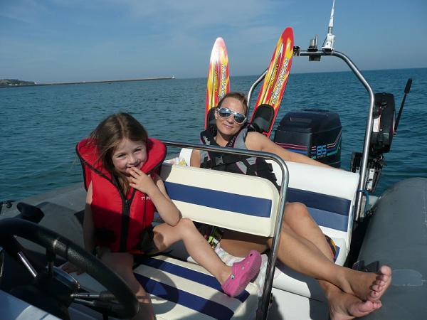 water skiing 09/11