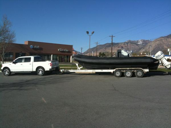 "The day I bought the boat. ""It's pretty big!"""