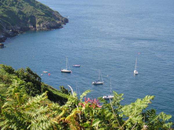 A view down to Blue Ray (Trevor G) and Into the Red - Sark