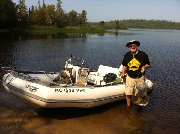 Lake near White River Ontario