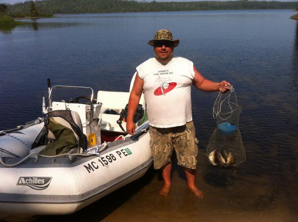 Fishing Trip near White River Ontario