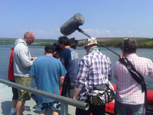 Filming with C@I 2012 - Gareth Thomas (Alfie)