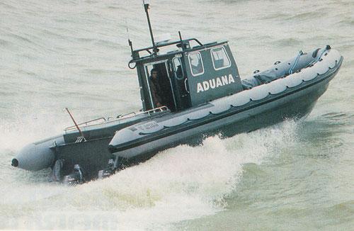 crompton marine 10 mtr workboat