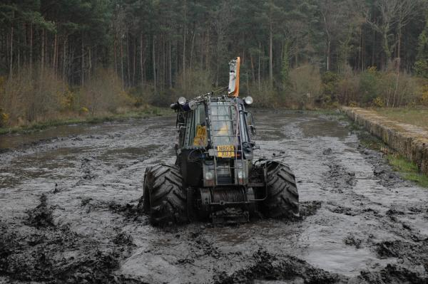 bogging tank