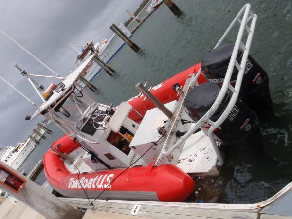 Converted Navy I/O boat.