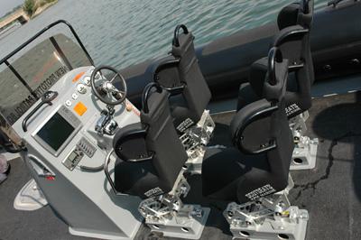 "Redbay 1050 ""the beast"" with 4 x S3J jockey seats"