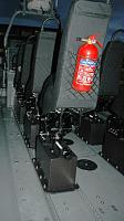 Jockey Seats on Tracked mounting system
