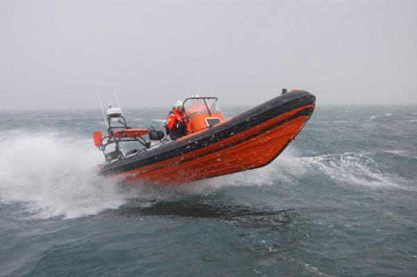 Redbay Irish Coast Guard Boat with S3J jockey seats