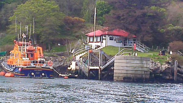 Lifeboat @ Port Askaig