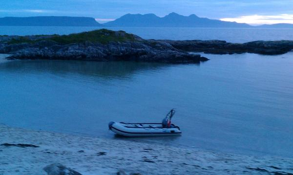 Eigg and rum.