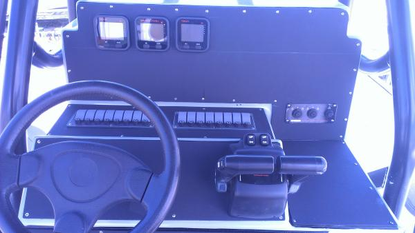New panels and switches. Command controls